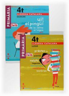 Debatecd.mx Llengua Catalanapack (Escriure+llegir) Projecte 3.16 4º Primaria Image