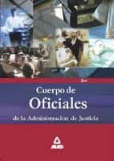 Padella.mx Cuerpo De Oficiales De La Administracion De Justicia: Test Del Te Mario Image