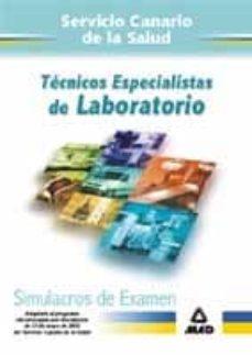Inmaswan.es Tecnicos Especialistas De Laboratorio Del Servicio Canario De La Salud: Simulacros De Examen Image