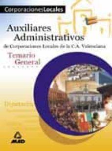 Permacultivo.es Auxiliares Administrativos De Corporaciones Locales De La Comunid Ad Valenciana: Temario General Image