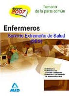 Permacultivo.es Enfermeria Del Servicio Extremeño De Salud (Ses). Temario Y Test De La Parte Comun Image