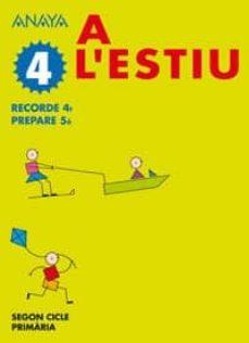 Followusmedia.es A L Estiu 4 (Segon Cicle Primaria): Recorde 4t Prepare 5e Image