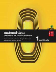 Followusmedia.es Matemáticas Ii 1º Bachillerato (Aplicadas A Las Ccss) Savia Ed 20 15 Image