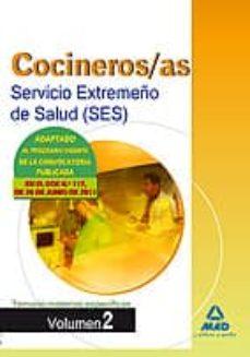 Alienazioneparentale.it Cocineros Del Servicio Extremeño De Salud (Ses). Temario Materias Especificas Volumen Ii Image