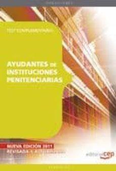Inciertagloria.es Ayudantes De Instituciones Penitenciarias. Test Complementario Image