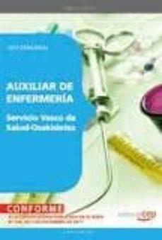 Srazceskychbohemu.cz Auxiliar De Enfermeria Del Servicio Vasco De Salud-osakidetza: Te St Especifico Image