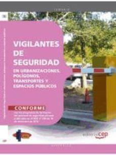 Eldeportedealbacete.es Manual Vigilantes De Seguridad En Urbanizaciones, Polígonos, Transportes Y Espacios Públicos Image