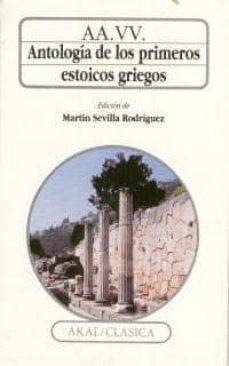 antologia de los primeros estoicos griegos-9788476006573