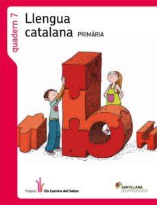 Inmaswan.es Quadern Llengua 7els Camins Del Saber3º Primaria Image