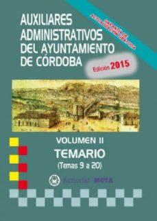 Permacultivo.es Auxiliares Administrativos Del Ayuntamiento De Córdoba Vol. Ii Image