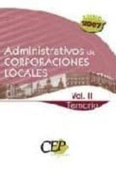 Permacultivo.es Temario Oposiciones Vol Ii. Administrativos De Corporaciones Loca Les Image