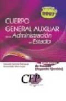 Mrnice.mx Simulacros De Examen Oposiciones Cuerpo General Auxiliar De La Ad Ministracion Del Estado (Segundo Ejercicio) Image