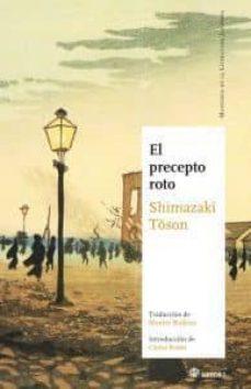 Descarga de libros electrónicos de epub de Google EL PRECEPTO ROTO 9788493820473 CHM (Literatura española) de TOSON SHIMAZAKI