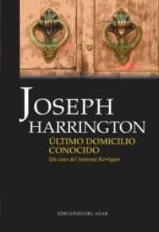 Descarga gratuita de libros electrónicos para j2ee ULTIMO DOMICILIO CONOCIDO