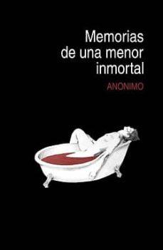 Cdaea.es Memorias De Una Menor Inmortal Image