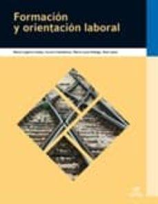 Descargar FORMACION Y ORIENTACION LABORAL  2010 gratis pdf - leer online