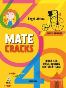 Costosdelaimpunidad.mx Matecracks 4 Años (Con Adhesivos): Para Ser Un Buen Matematico Image