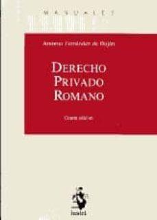 Vinisenzatrucco.it Derecho Privado Romano (4ª Ed) Image