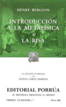 Inmaswan.es Introduccion A La Metafisica; La Risa Image