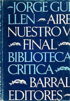 Trailab.it Escritos De Jorge Guillén V. Aire Nuestro. Final Image