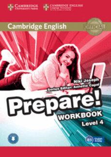 Ibooks epub descargas CAMBRIDGE ENGLISH PREPARE! 4 WORKBOOK WITH AUDIO de  9780521180283 (Spanish Edition)