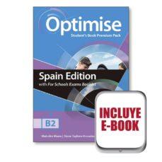 Descarga gratuita de libros de frases en francés. OPTIMISE B2 EXAM BKLT STUDENT´S  BOOK PREMIUM PACK de  CHM FB2