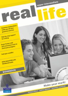 real life global upper intermediate workbook & multi-rom pack-9781408239483
