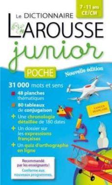 Permacultivo.es Dictionnaire Larousse Junior Poche, 7-11 Ans, Ce-cm Alerte Image