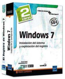 Chapultepecuno.mx Windows 7-pack 2 Libros: Instalacion Del Sistema Y Explotacio Del Registro Image