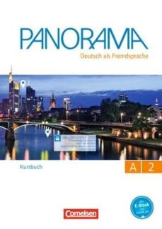 Leer libros completos en línea descarga gratuita PANORAMA A2: LIBRO DE CURSO 9783061204983 PDF