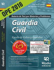 Padella.mx Guardia Civil. Escala De Cabos Y Guardias. Batería De Test Por Materias Y Problemas (Ed. 2016) (3ª Ed.) Image