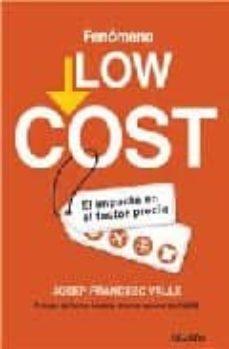 fenomeno low cost-josep francesc valls-9788423426683