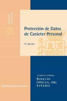 Costosdelaimpunidad.mx Proteccion De Datos De Caracter Personal (5ª Ed.) Image