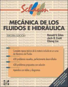 Descargar MECANICA DE LOS FLUIDOS E HIDRAULICA gratis pdf - leer online