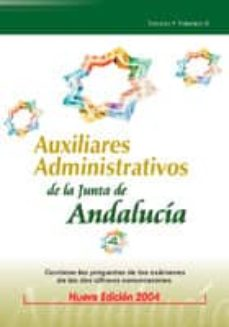 Lofficielhommes.es Auxiliares Administrativos De La Junta De Andalucia: Temario (Vol . Ii) Image
