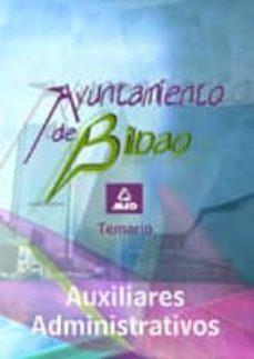 Debatecd.mx Auxiliares Administrativos Del Ayuntamiento De Bilbao. Temario Image
