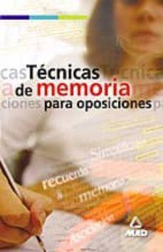 Encuentroelemadrid.es Tecnicas De Memoria Para Oposiciones Image