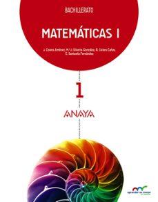 matemáticas 1º bachillerato-9788467826883