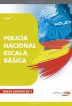 Lofficielhommes.es Policia Nacional Escala Basica: Test (12ª Ed.) Image