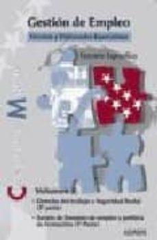 Geekmag.es Gestion De Empleo. Tecnicos Y Diplomados Especialistas Comunidad De Madrid. Temario Especifico (Vol. 3) Image