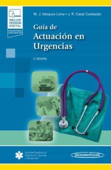 Descargas gratuitas de libros de Kindle Reino Unido GUIA DE ACTUACION EN URGENCIAS (5ª ED.) iBook