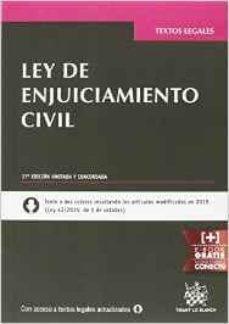 Cdaea.es Ley De Enjuiciamiento Civil 28ª Ed. 2016 Image