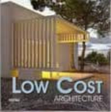 low cost architecture (español/ingles)-9788496429383