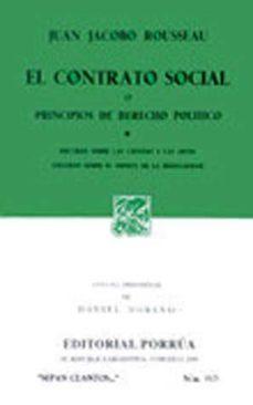 Inmaswan.es El Contrato Social O Principios De Derecho Politico Image
