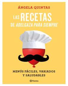 pack cdl las recetas de adelgaza para siempre + agenda-angela quintas-8432715101093