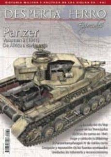 Descarga gratuita de libros de texto pdf REVISTA PANZER (II) (REVISTA DESPERTA FERRO 16) de DESPERTAFERRO REVISTAS