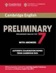 cambridge english preliminary test 7 student s book with answers-9781107675193
