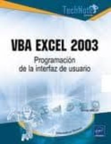 Debatecd.mx Vba Excel 2003: Programacion De La Interfaz Del Usuario Image