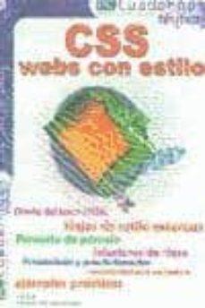 Debatecd.mx Css Webs Con Estilo (Pc Cuadernos Tecnicos) Image