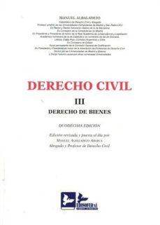 Descargar DERECHO CIVIL, III gratis pdf - leer online